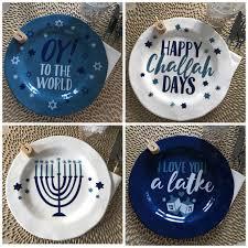 hanukkah plates hanukkah decor you can t ignore best of 2017 maker