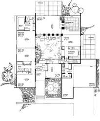 central courtyard house plans yes finally found the u shape house i want just need to change