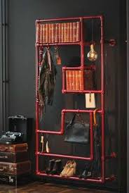 industrial pipe shelving ideas for the house pinterest pipe