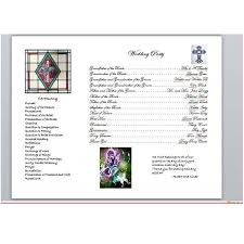 Programs For Weddings Precy U0027s Blog About Anything In A Wedding Program Most People