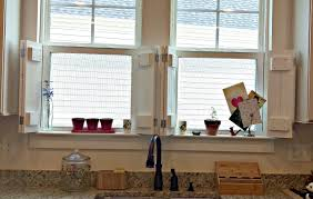 potomac shores living diy rustic shutters and window treatments