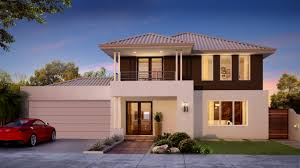 two story house designs homes two storey narrow lot small perth home building plans simple