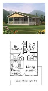 Contemporary House Plans by Two Bedroom 500 Sq Ft House Plans Google Search Cabin Life