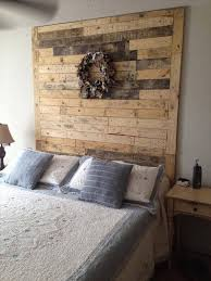 Headboards Made With Pallets 40 Recycled Diy Pallet Headboard Ideas