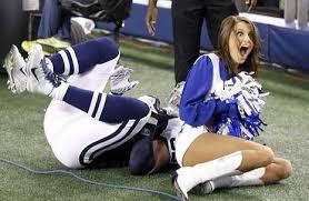 Dallas Cowboy Cheerleader Halloween Costume Tackled Dallas Cowboys Cheerleader Forced Twitter U2013 Theblaze