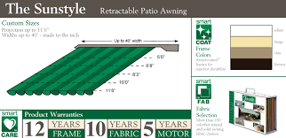 Awnings Baltimore Sunstyle Retractable Awnings Baltimore Md Dc Va