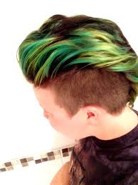green hair from jan april u002715 skate or dye pinterest green