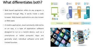 social media mobile application vs web application web2 0
