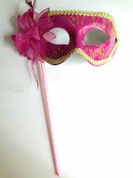 pink masquerade masks pink venetian mardi gras costume masquerade