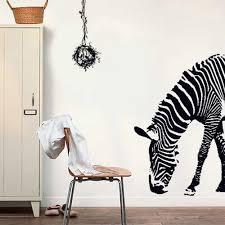 wall stickers uk wall art stickers kitchen wall stickers ay9030 walplus wall sticker zebra