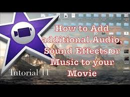 how to add audio or music to your project in imovie 10 0 1