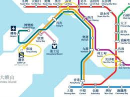 mtr map the hong kong mtr