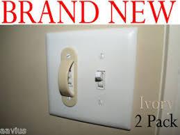 light switch lock guard light switch guard lock cover kids children 2pk ivory ebay