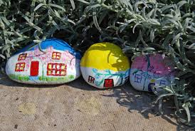Garden Stone Craft - stone craft fairy houses a village for the little people