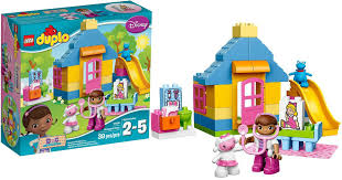 doc mcstuffins playhouse amazon lego duplo doc mcstuffins clinic set just 18 96
