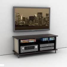 Simpletv Remarkable Tv Stand With Floating Concept Also Curves Shape Design