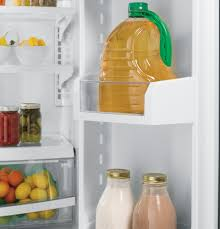 ge glass door refrigerator pfs23kshss ge profile series 22 8 cu ft french door