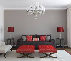 Bedroom With Red Accent Wall - you had me at grey black furniture red accents and bedrooms