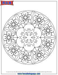 advanced mandala 21 coloring page h u0026 m coloring pages