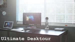 ultimate minimalist desktour mac mini u0026 macbook air 2014 youtube