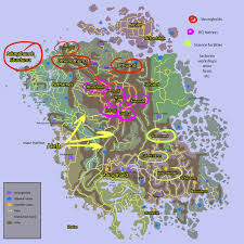 Solstheim Map Dwemer Ruins Each City Has Own Specialization Tesrenewal