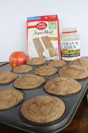 apple spice muffins u2013 three ingredients delicious and easy
