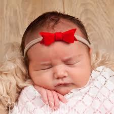 newborn headband felt newborn to baby headband felt bow headband baby gift