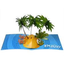card invitation design ideas tropical island birthday greeting