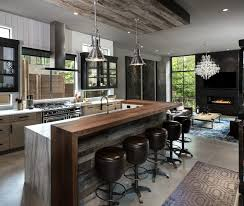 industrial style kitchen islands 20 industrial style kitchen lighting best home template