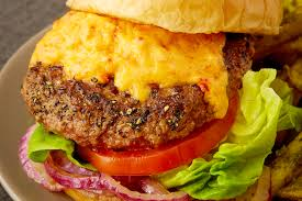 pimento burger recipe john tesar knife cookbook the feast