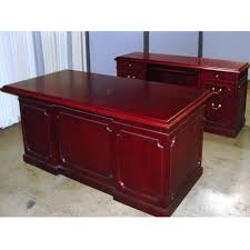Used Office Desk Dallas Office Furniture Cherry Traditional Executive Desk New