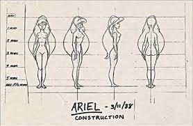 walt disney characters images walt disney sketches princess ariel