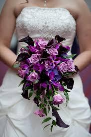 purple wedding bouquets purple bridal bouquet
