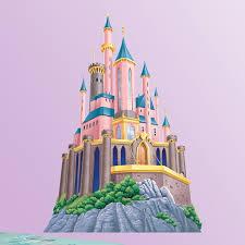 Tinkerbell Bathroom Disney Princess Castle Wall Decal Hayneedle