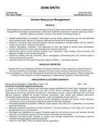 director human resources resume hr resume template u2013 foodcity me