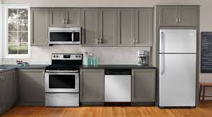 kitchen stainless steel kitchen appliance package throughout