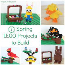 seven spring lego ideas projects to build with instructions