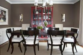 brown walls transitional dining room benjamin moore whitall brown