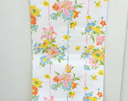 Shabby Chic Kitchen Wallpaper by Vintage Floral Wallpaper Etsy