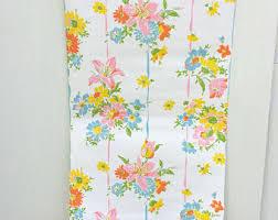 vintage floral wallpaper etsy