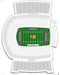 Alaska Airlines Seat Map by Husky Stadium Washington Seating Guide Rateyourseats Com