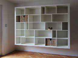 In Wall Shelves by Wall Mount Shelves Wall Mounted Glass Shelving Unit Bedroom