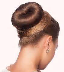 hair bun how to do a donut bun pictorial