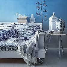 sainsbury u0027s moroccan blue homeware collection blue throws