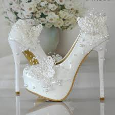 wedding shoes europe new butterfly wedding shoe lace pearl shoes picture taken