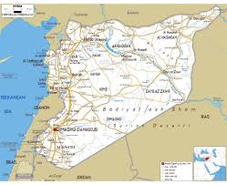 Arizona Map Of Cities by Maps Of Syria Detailed Map Of Syria In English Tourist Map
