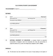 loan agreement between friends template free uk example good