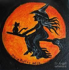 harvest moon painting by julie brugh riffey