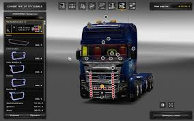 kenworth accessories scania illegal v8 reworked v5 0 truck mod ets2 mod