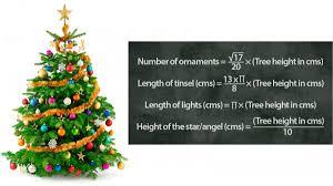 the optimal christmas tree math pics math fail